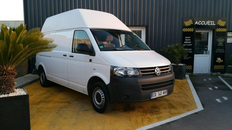 Volkswagen TRANSPORTER CCB 3.0T L2 2.0 TDI 84CH BUSINESS LINE Diesel BLANC Occasion à vendre